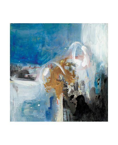 """Trademark Global Joyce Combs Interplay Abstract II Canvas Art - 36.5"""" x 48"""""""