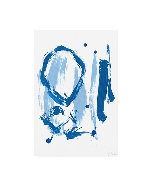 "Trademark Global Christina Long Abstract Canvas Art - 19.5"" x 26"""