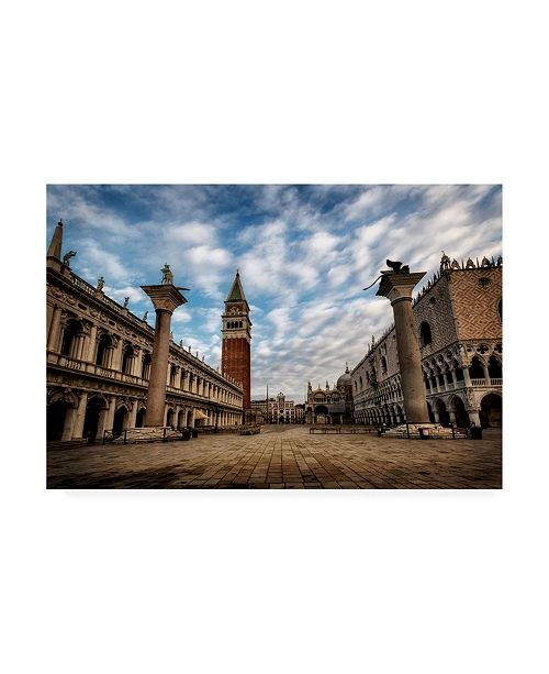 "Trademark Global Danny Head San Marco Canvas Art - 36.5"" x 48"""