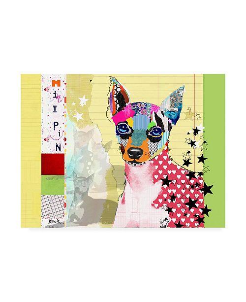 "Trademark Global Michel Keck Minipin Canvas Art - 19.5"" x 26"""