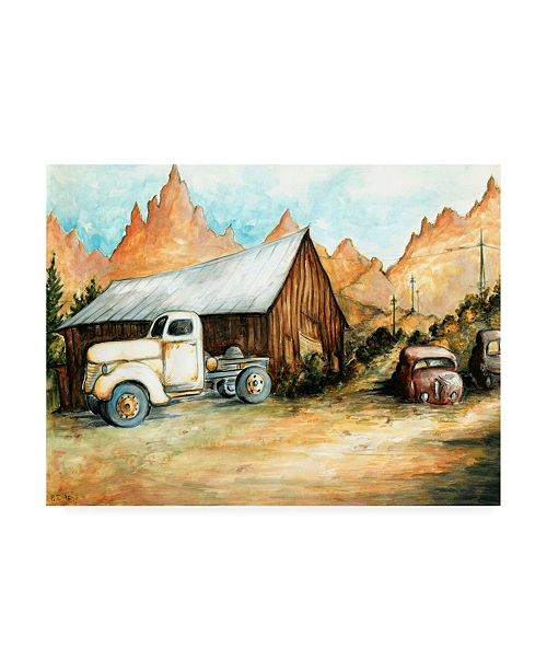 "Trademark Global Peter Potter Ghost Town Canvas Art - 19.5"" x 26"""