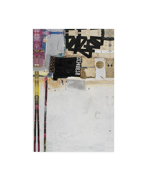 """Trademark Global Michel Keck End of Story Industrial Canvas Art - 19.5"""" x 26"""""""