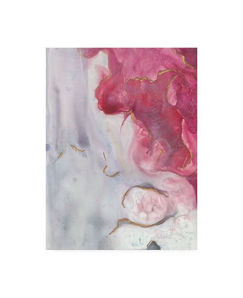 "Trademark Global Joyce Combs Magenta Dream II Canvas Art - 36.5"" x 48"""