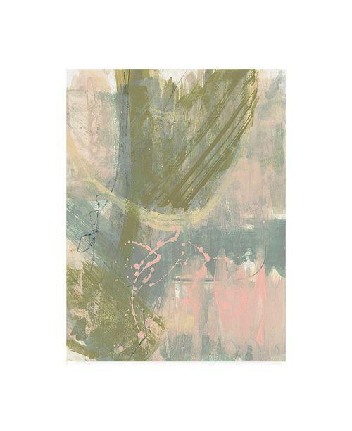 "Trademark Global Jennifer Goldberger Op Splash II Canvas Art - 36.5"" x 48"""