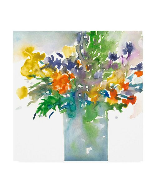 """Trademark Global Samuel Dixon Garden Elements II Canvas Art - 15.5"""" x 21"""""""