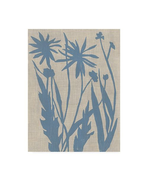 "Trademark Global Chariklia Zarris Dusk Botanical III Canvas Art - 36.5"" x 48"""