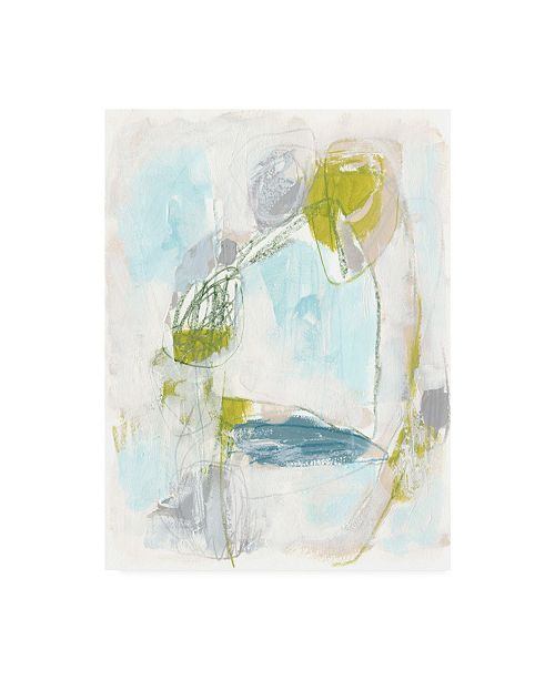 "Trademark Global June Erica Vess Channel Circuit I Canvas Art - 36.5"" x 48"""