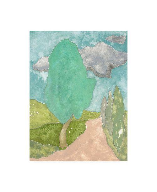 """Trademark Global Rob Delamater Tuscan Plein Air IV Canvas Art - 36.5"""" x 48"""""""