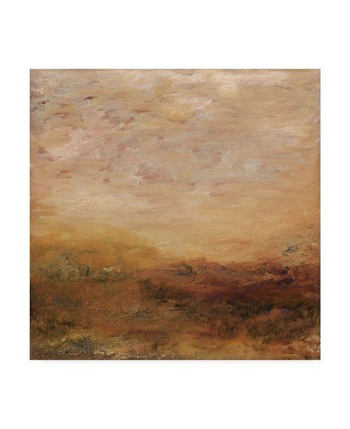 """Trademark Global Sharon Gordon Beige September Morning Canvas Art - 20"""" x 25"""""""
