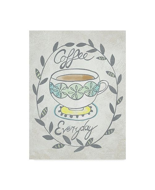"Trademark Global Chariklia Zarris Breakfast Club II Canvas Art - 20"" x 25"""