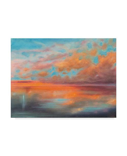 "Trademark Global Marabeth Quin as Above, so Below Canvas Art - 15"" x 20"""