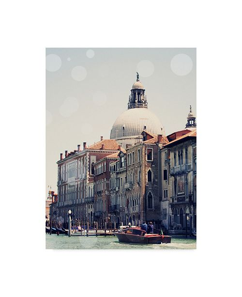 "Trademark Global Sylvia Coomes Venice Bokeh V Canvas Art - 20"" x 25"""