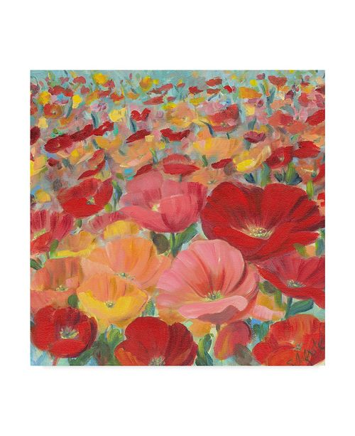"Trademark Global Sandra Iafrate Wild Flower Field I Canvas Art - 15"" x 20"""