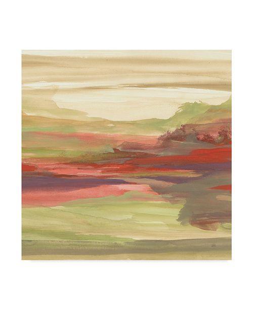 """Trademark Global Chris Paschke Distant Fields Canvas Art - 15"""" x 20"""""""