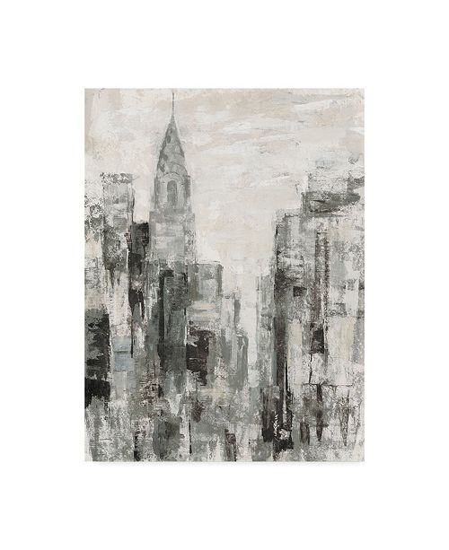 "Trademark Global Silvia Vassileva Manhattan Neutral I Crop Canvas Art - 15"" x 20"""