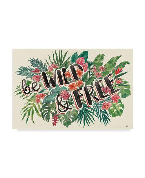 "Trademark Global Janelle Penner Jungle Vibes VI Canvas Art - 37"" x 49"""