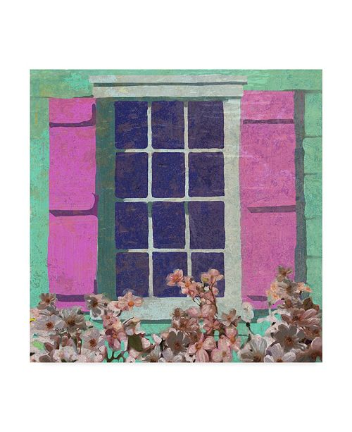 "Trademark Global Rick Novak Window Floral II Canvas Art - 15"" x 20"""