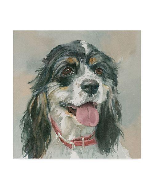 "Trademark Global Edie Fagan Winston Cocker Spaniel Canvas Art - 15"" x 20"""