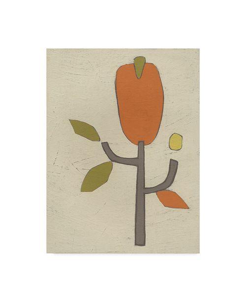 "Trademark Global June Erica Vess Simple Stems I Canvas Art - 20"" x 25"""