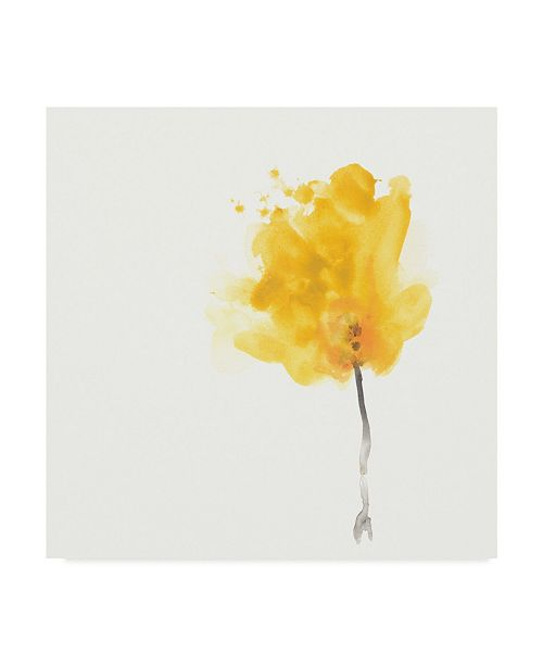 "Trademark Global June Erica Vess Expressive Blooms VII Canvas Art - 20"" x 25"""