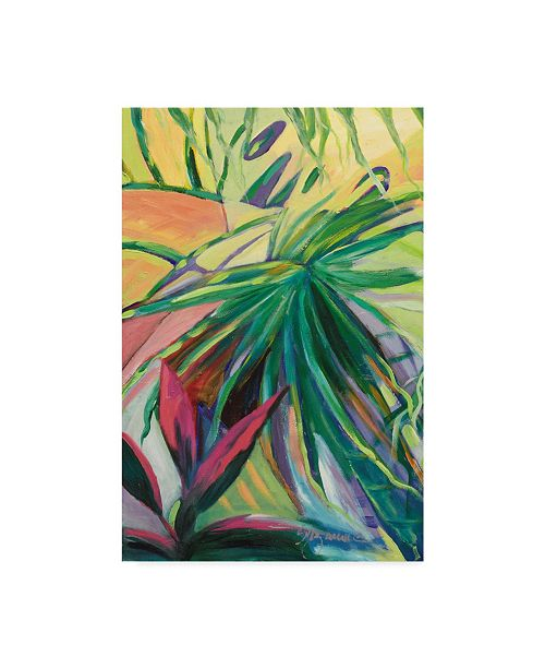"Trademark Global Suzanne Wilkins Jardin Abstracto I Canvas Art - 15"" x 20"""
