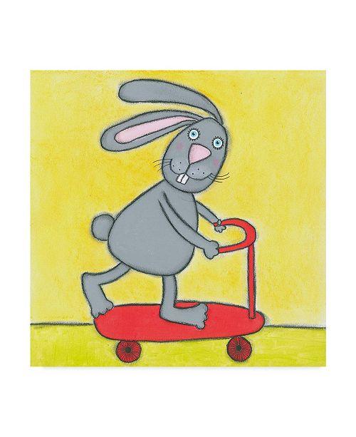 "Trademark Global Tatijana Lawrence Super Animal Rabbit Canvas Art - 27"" x 33"""