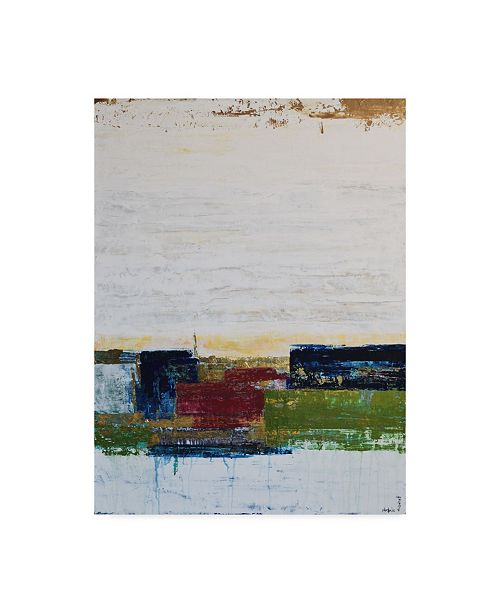 "Trademark Global Natalie Avondet Color Swatches II Canvas Art - 20"" x 25"""