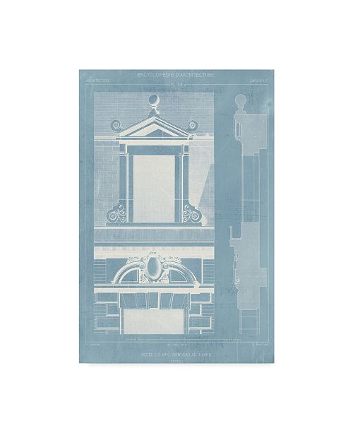 "Trademark Global Vision Studio Details of French Architecture III Canvas Art - 15"" x 20"""