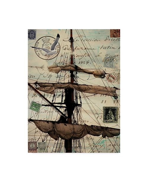 "Trademark Global Sandy Lloyd Journey Sails Canvas Art - 15"" x 20"""