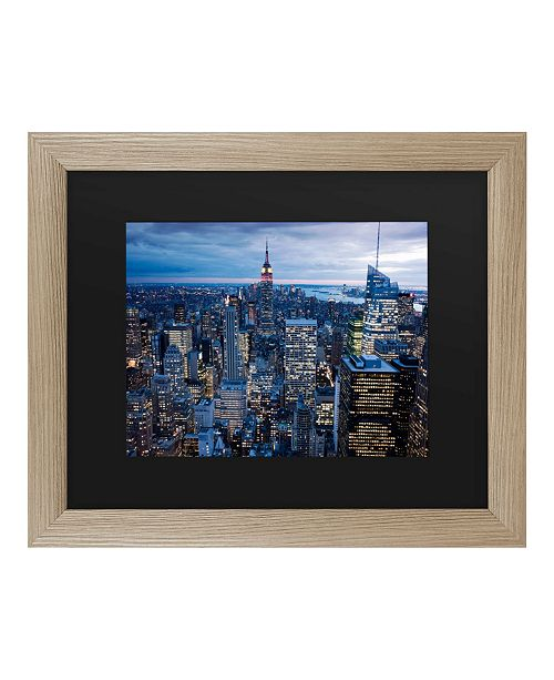 "Trademark Global Masters Fine Art New York City, Ny Matted Framed Art - 27"" x 33"""