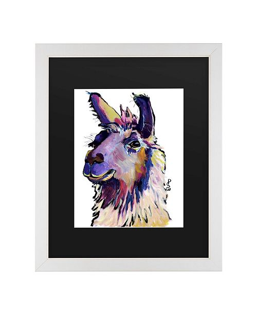 "Trademark Global Pat Saunders-White Fabio Matted Framed Art - 20"" x 25"""
