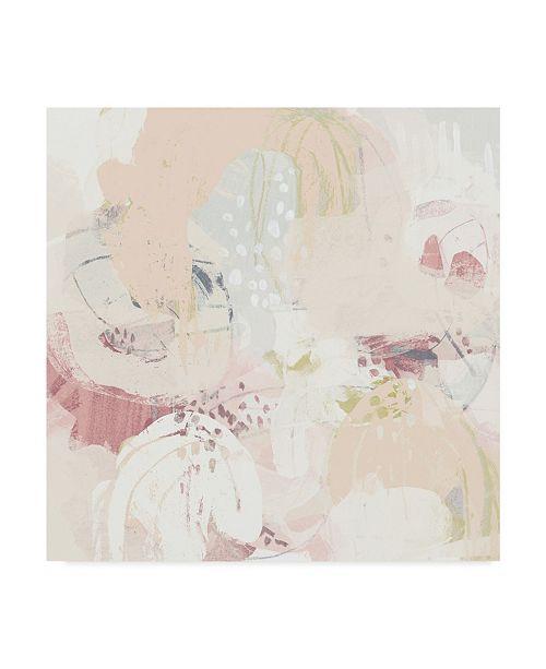 "Trademark Global June Erica Vess Hanami I Canvas Art - 27"" x 33"""
