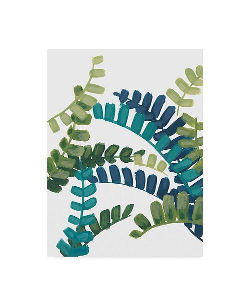 "Trademark Global June Erica Vess Tropical Thicket III Canvas Art - 20"" x 25"""