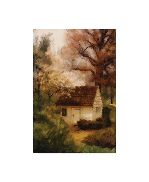 """Trademark Global Lois Bryan Springhouse in the Spring Canvas Art - 37"""" x 49"""""""