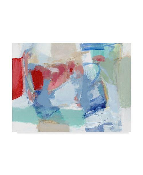 "Trademark Global Christina Long Roundabout I Canvas Art - 37"" x 49"""