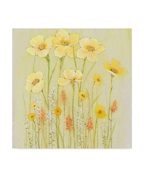 "Trademark Global Tim Otoole Soft Spring Floral I Canvas Art - 15"" x 20"""