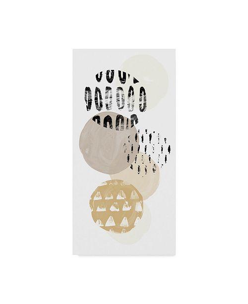 "Trademark Global June Erica Vess Circular Synergy III Canvas Art - 20"" x 25"""