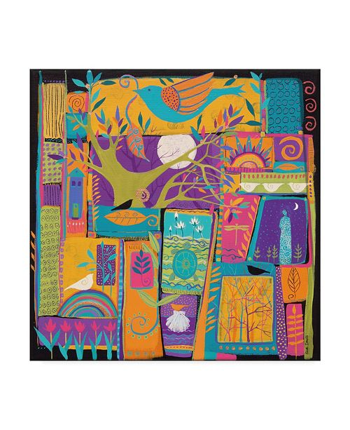 "Trademark Global Sue Davis Tell Me Your Dreams Canvas Art - 20"" x 25"""