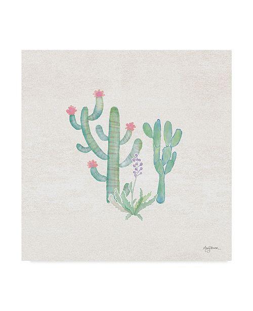 "Trademark Global Mary Urban Bohemian Cactus IV Canvas Art - 15"" x 20"""