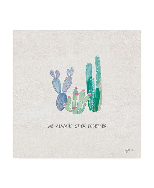 "Trademark Global Mary Urban Bohemian Cactus VI Canvas Art - 27"" x 33"""
