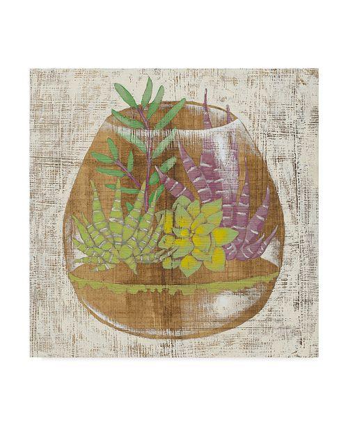 "Trademark Global Chariklia Zarris Glass Garden II Canvas Art - 15"" x 20"""