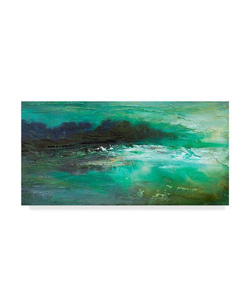 "Trademark Global Sheila Finch Dusk on the Coast Canvas Art - 15"" x 20"""