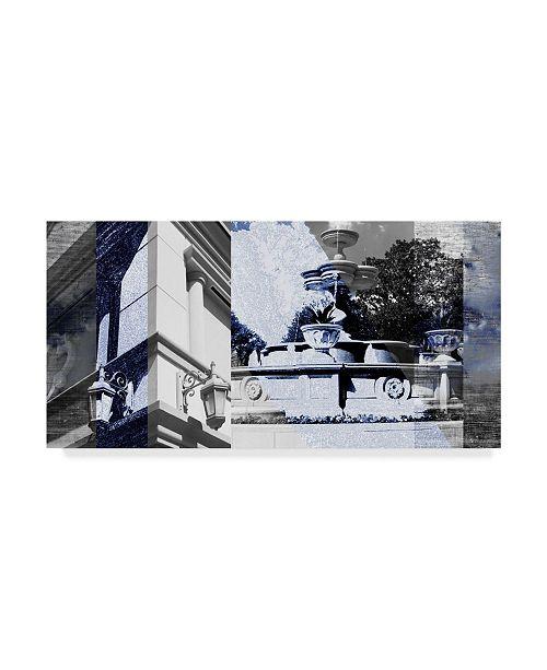 "Trademark Global Sisa Jasper Architecture Collage II Canvas Art - 20"" x 25"""