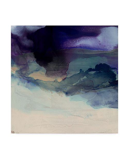 "Trademark Global Sisa Jasper Purple Wunderlust I Canvas Art - 15"" x 20"""
