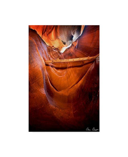 "Trademark Global David Drost Sun Shining Through Canyon V Canvas Art - 20"" x 25"""