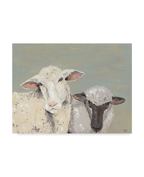 "Trademark Global Jade Reynolds Sweet Lambs I Canvas Art - 15"" x 20"""