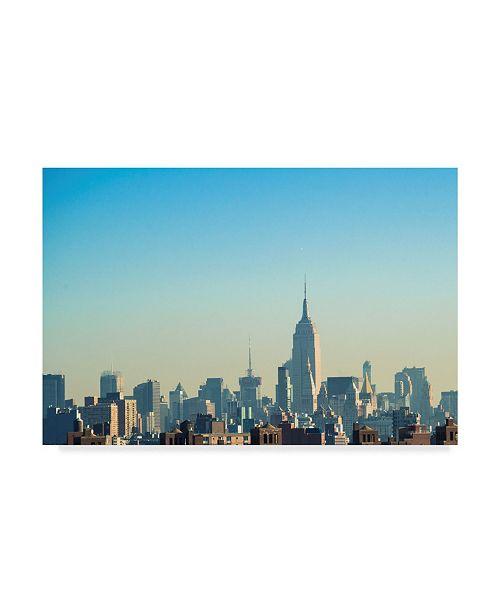 "Trademark Global Sonja Quintero NYC Silhouettes II Canvas Art - 15"" x 20"""