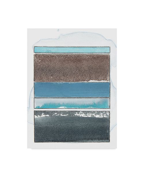 "Trademark Global Rob Delamater Pacific Horizon VIII Canvas Art - 15"" x 20"""