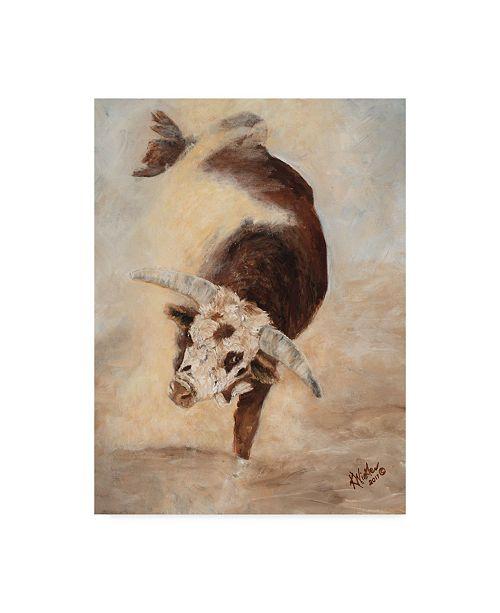 """Trademark Global Kathy Winkler Shake Rattle & Roll II Canvas Art - 37"""" x 49"""""""
