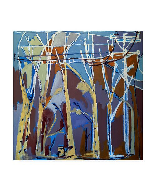 "Trademark Global Erin Mcgee Ferrell Trees & Wires II Canvas Art - 27"" x 33"""